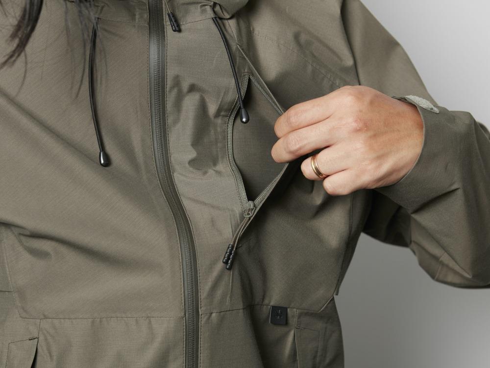 FR(ファイヤーレジスタンス)レインジャケット 1 オリーブ