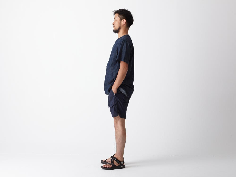 Dungaree Field S/Sleeve 2 Indigo2