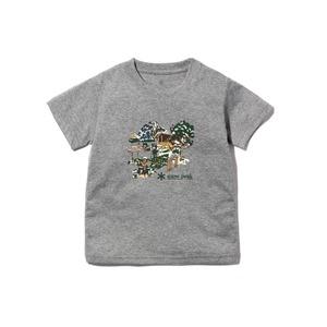 キッズキャンプフィールドティーシャツ 1 メランジェグレー