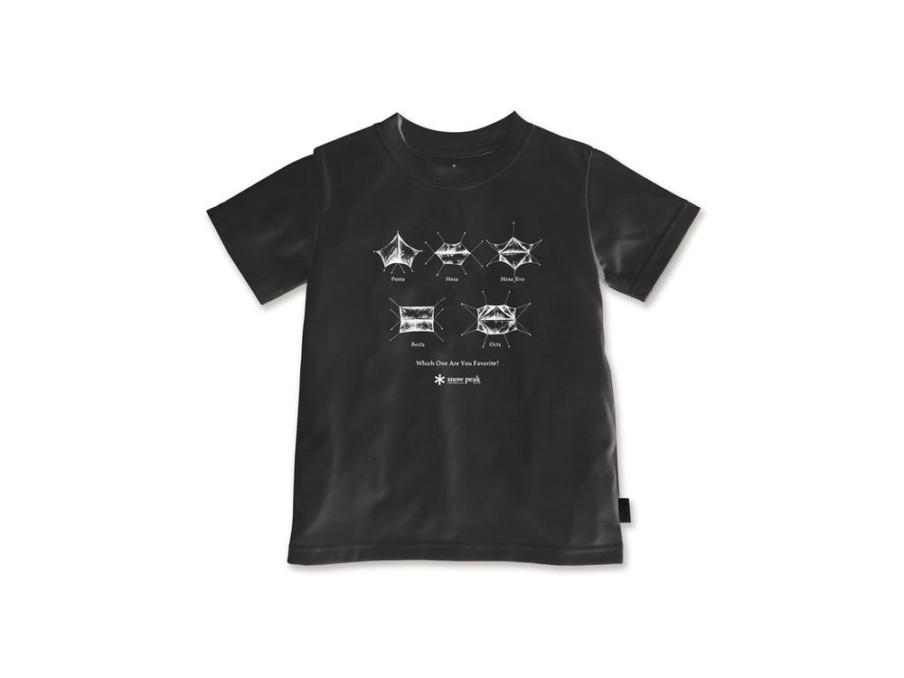 キッズ SP Tarp Tシャツ 3 Black
