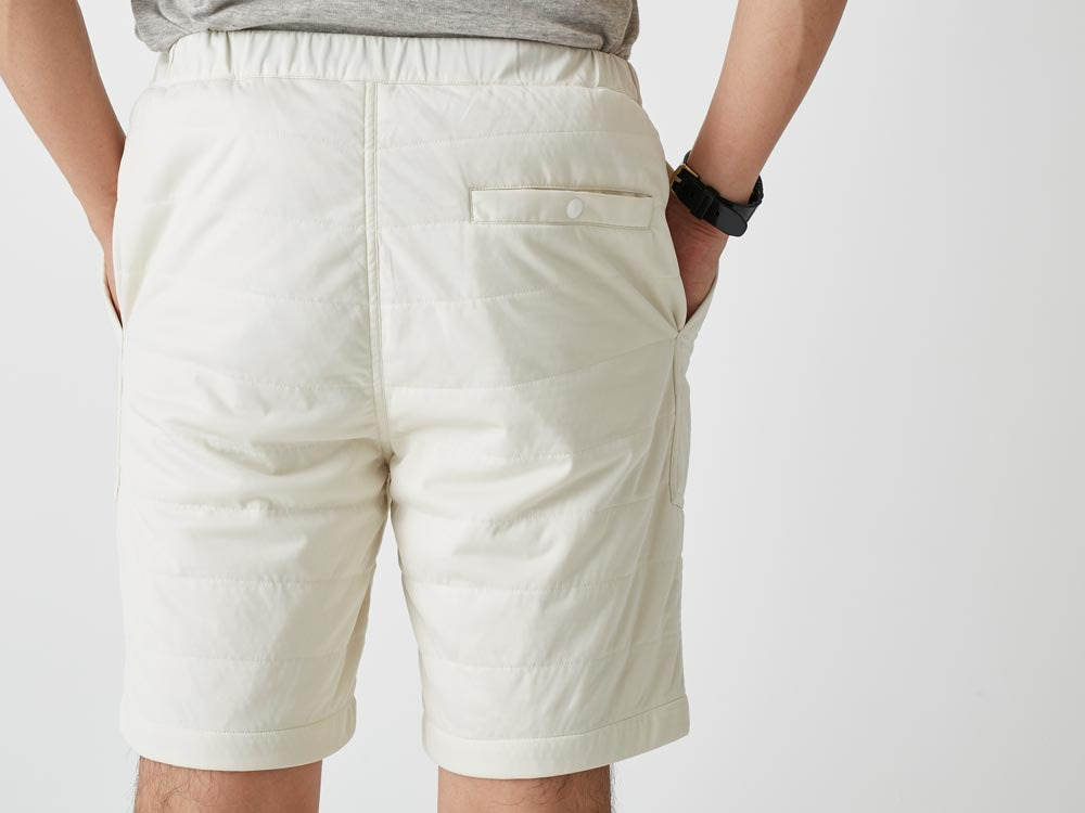FlexibleInsulated Shorts L White9