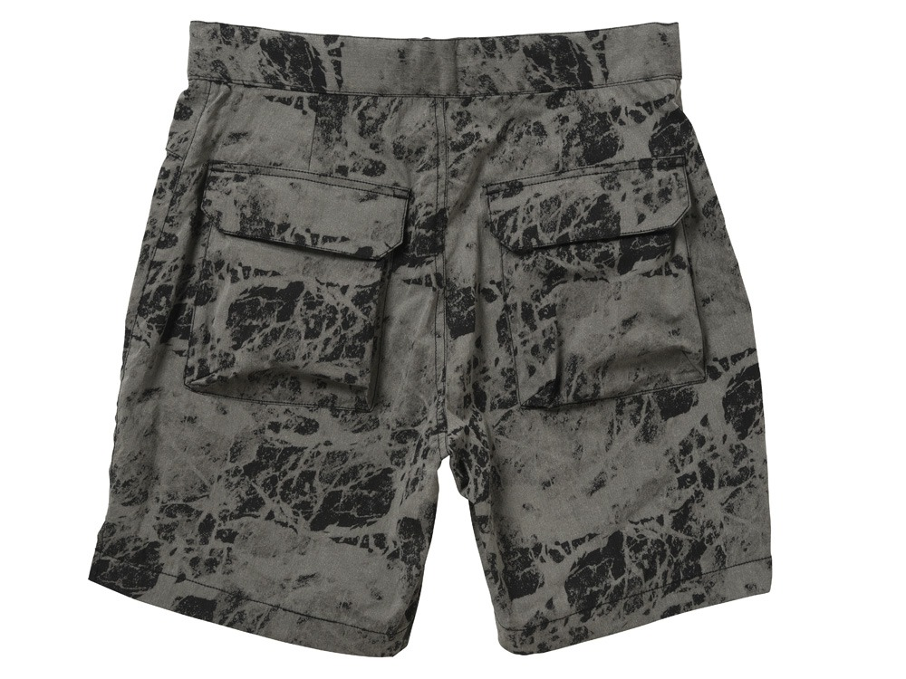 Indigo C/N Anorak Shorts L Black1