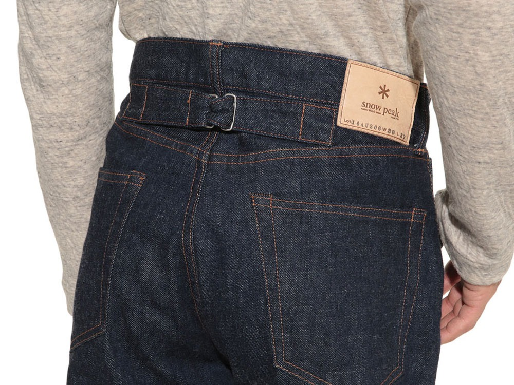 Selvage  Denim Pants Slim Fit36 Stone Wash8