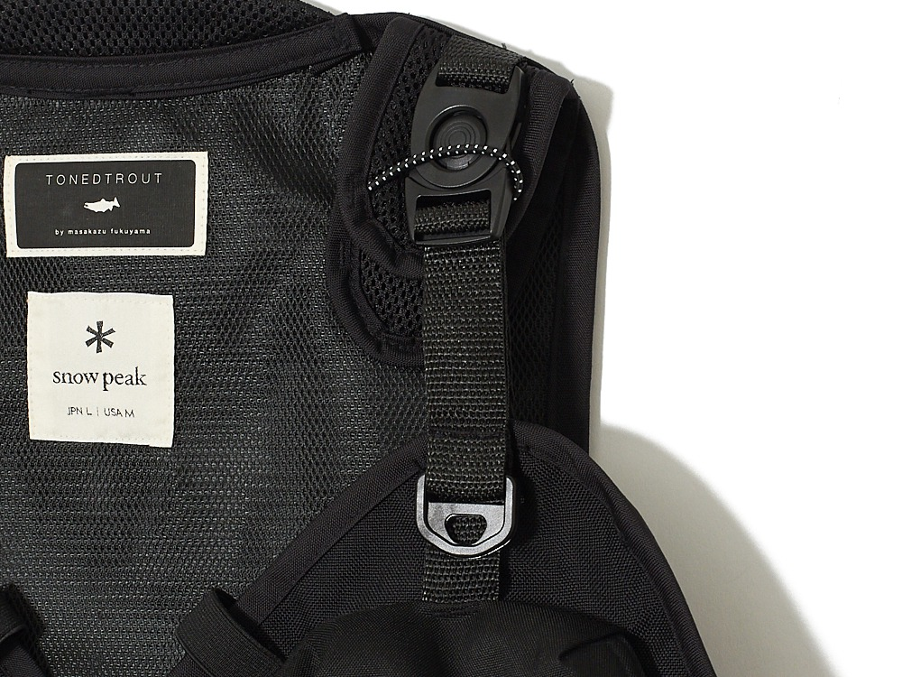 Transit Vest M/S Black