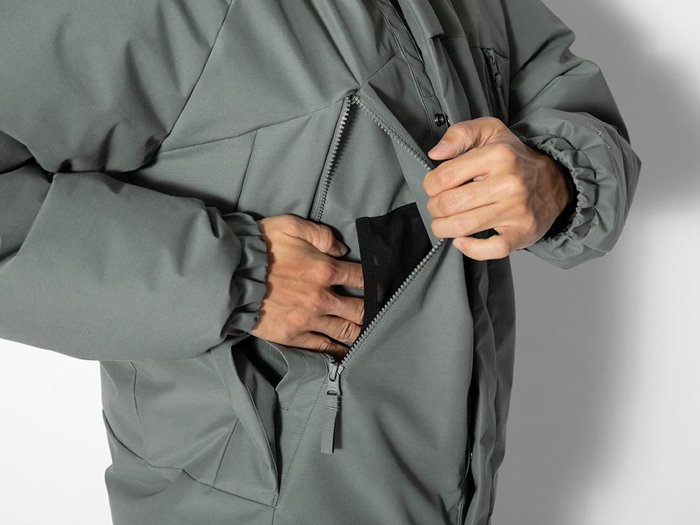 FR 2L Down Jacket M Brown