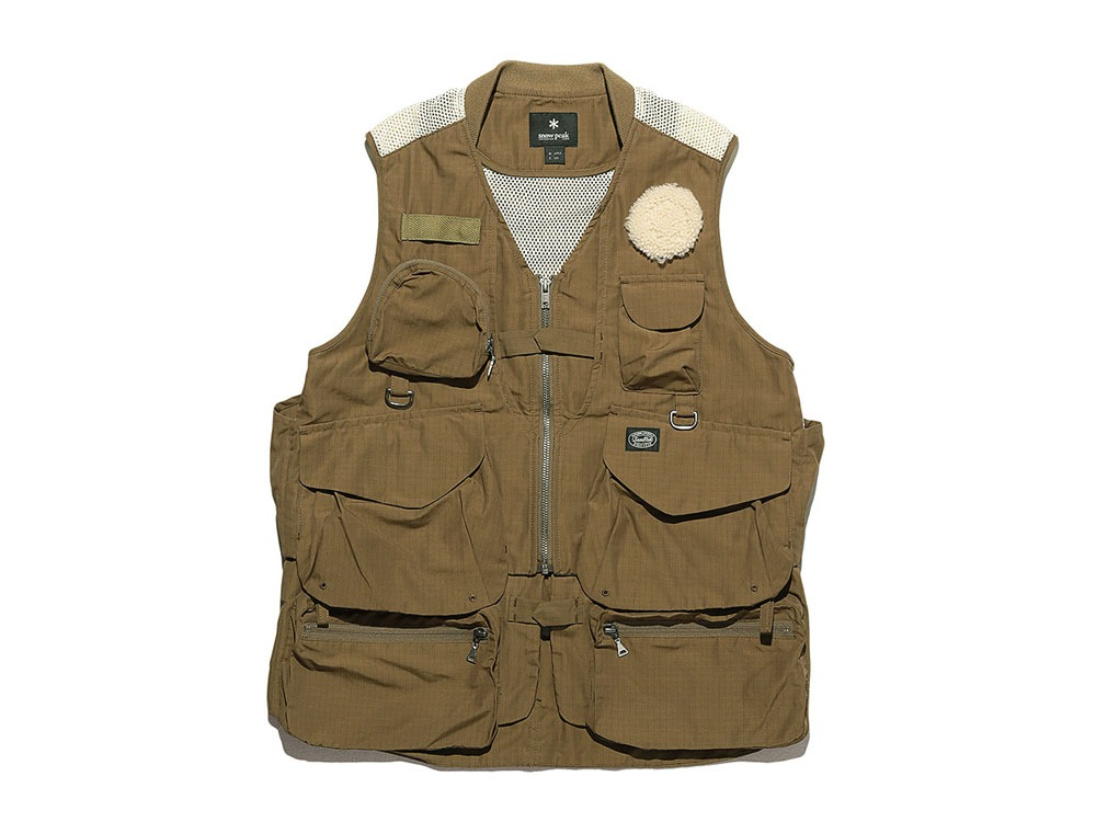 Utility Fishing Vest #2 1 Brown0