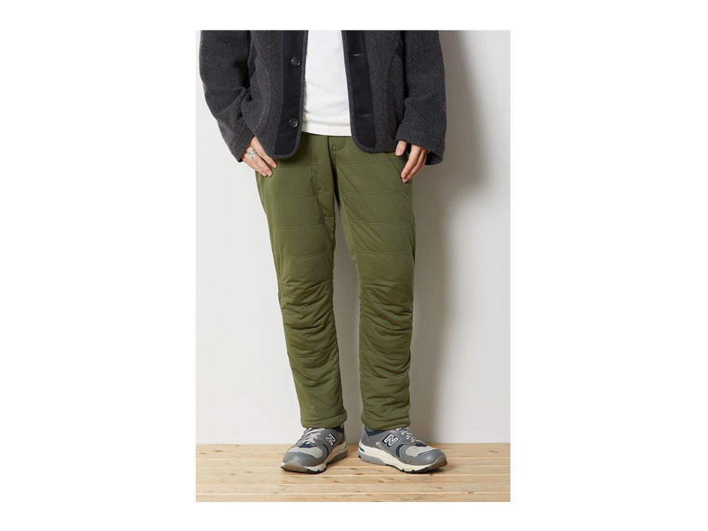 Flexible Insulated Pants 2 Brown