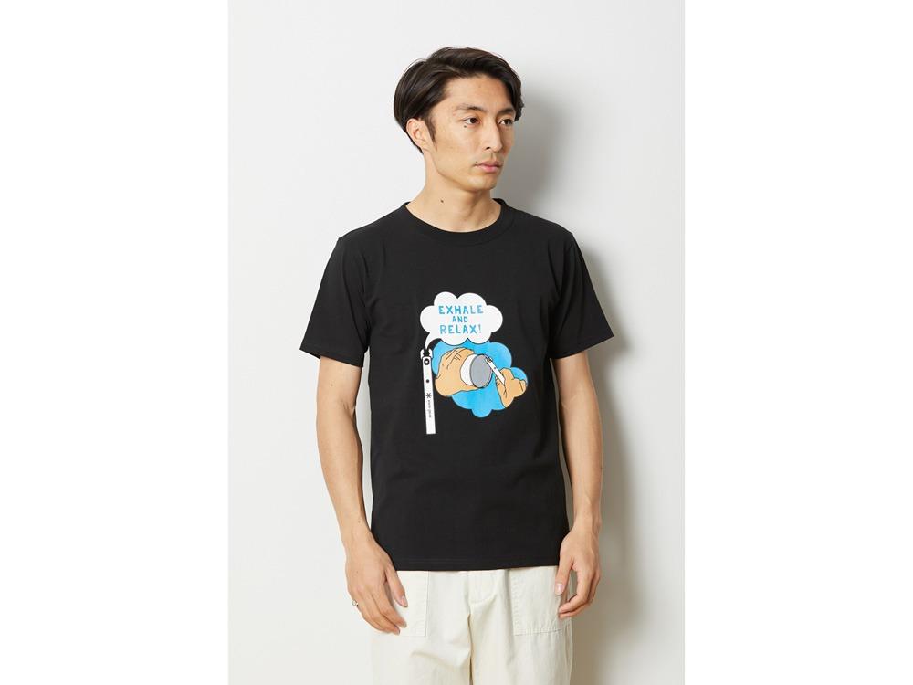 クワガタ Tシャツ L マスタード