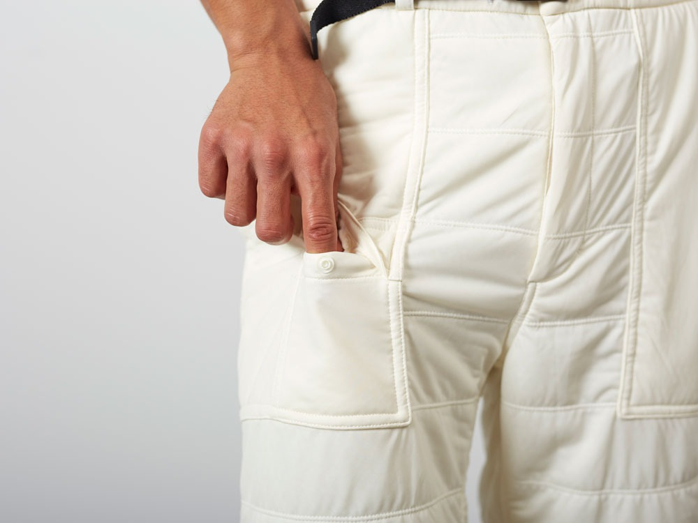 FlexibleInsulatedShorts  S White7