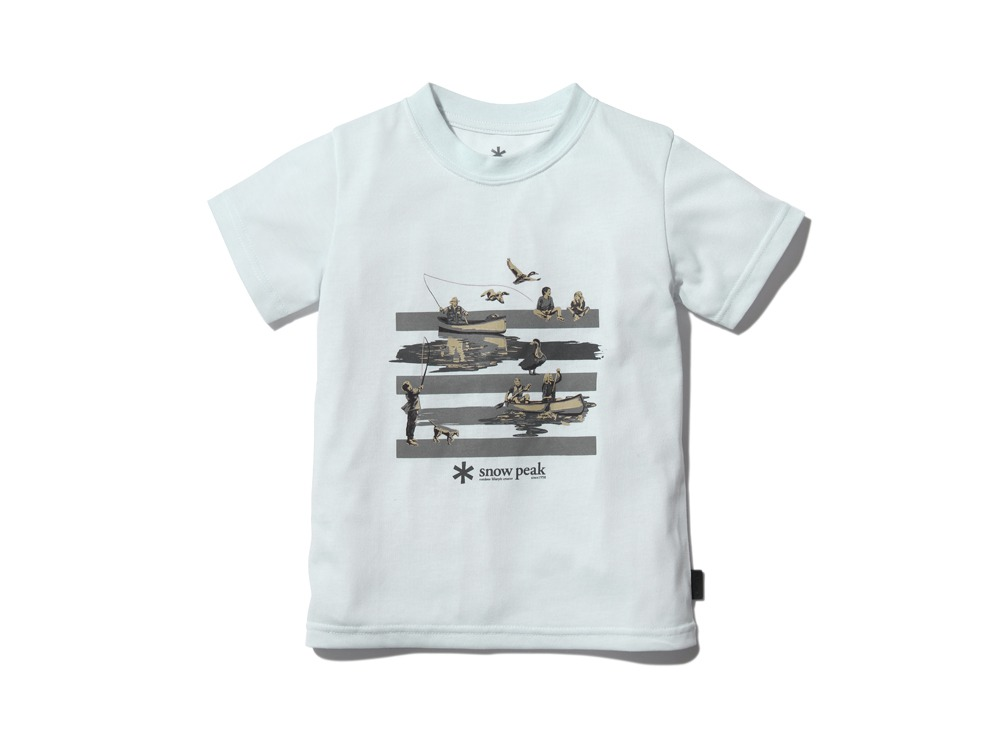 Kid'sQuickDryTshirt/Field3 White0