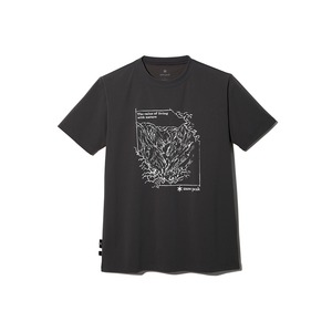 【予約受付中】Graphic Tshirt Mt.Tanigawa M Charcoal