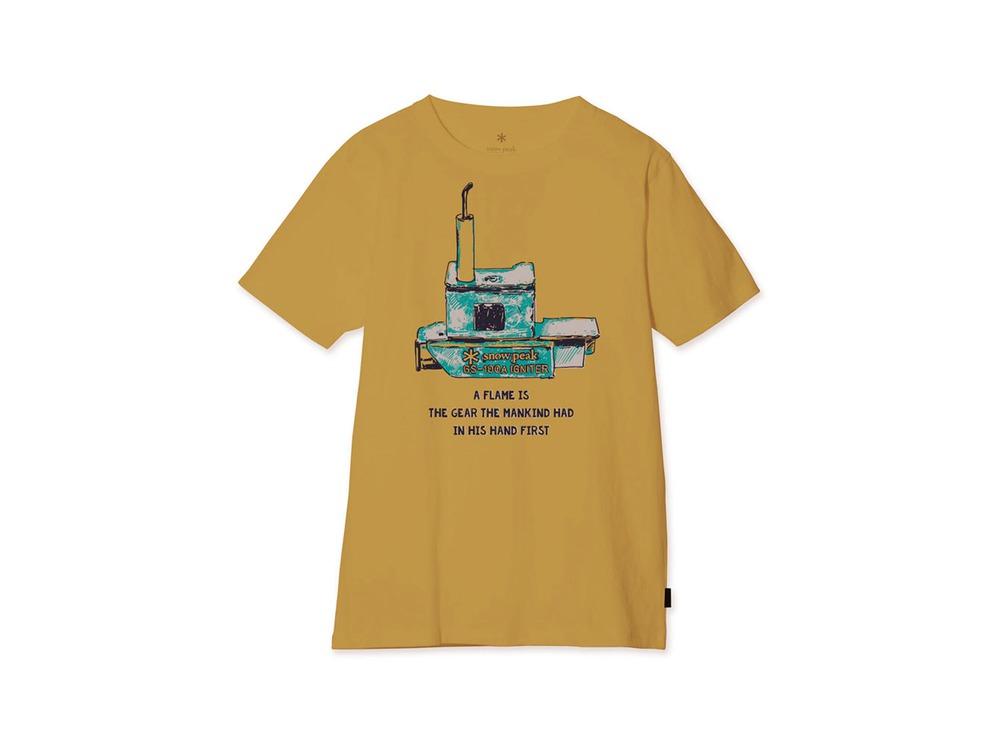 Auto Igniter Tee S Mustard