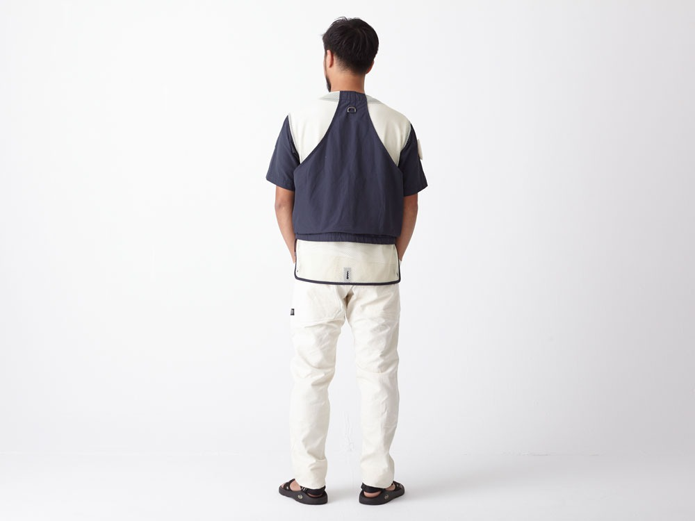 Utility Fishing Pullover L Navy3