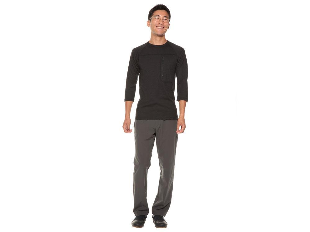 Wool Tactical Raglan Sleeve L Black1