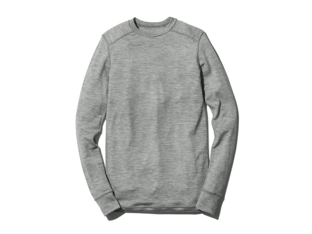 WoolInnerPullover L Grey0