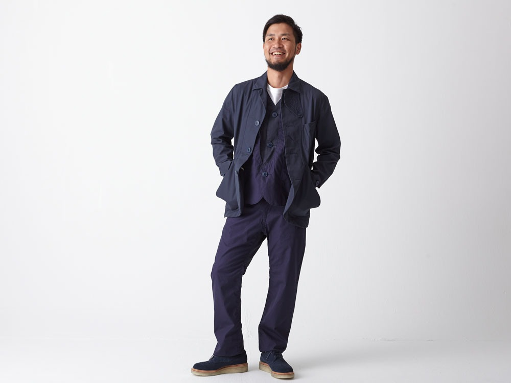 Ventile 3piece Pants #2 L Navy1