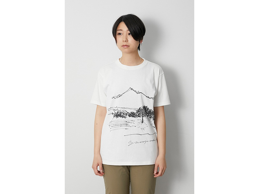 CF Graphic Tee S White