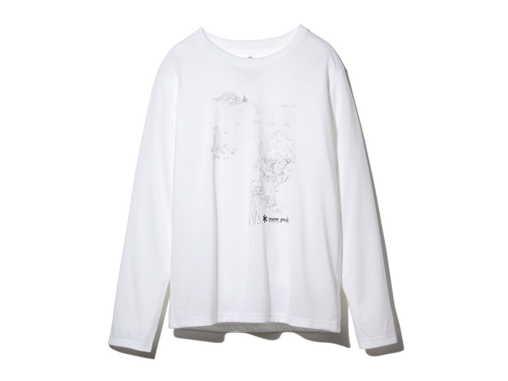 Campfield Long Tshirt1White