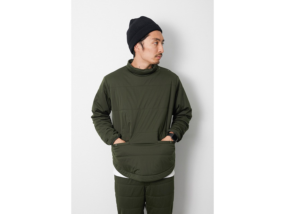 Flexible Insulated TunicPullover M BG