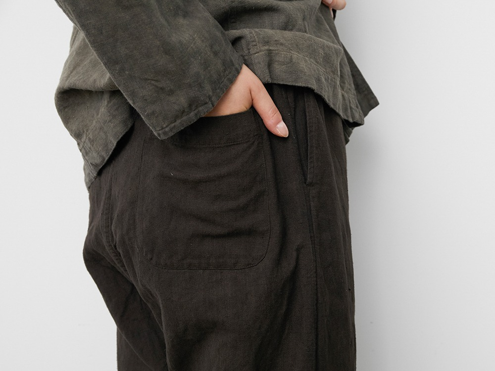 Hand-woven C/L Pants 2 SUMI