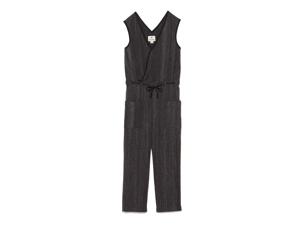 Spec Dyed OX Noragi Overalls 3 Black0
