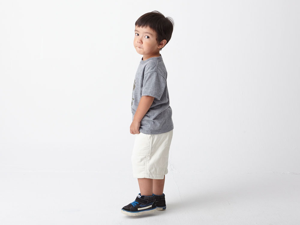 Kids Flexible Insulated Shorts 3 Grey3