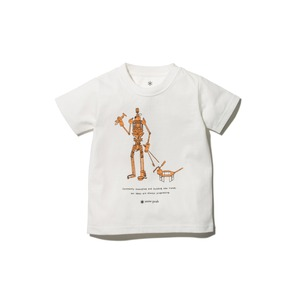 Kids The Camping Machine Tee 3 White