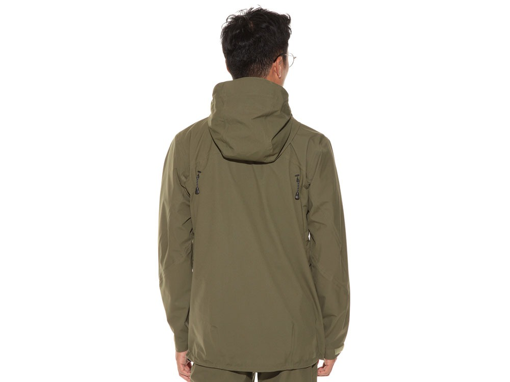3L Light Shell Jacket S Olive4
