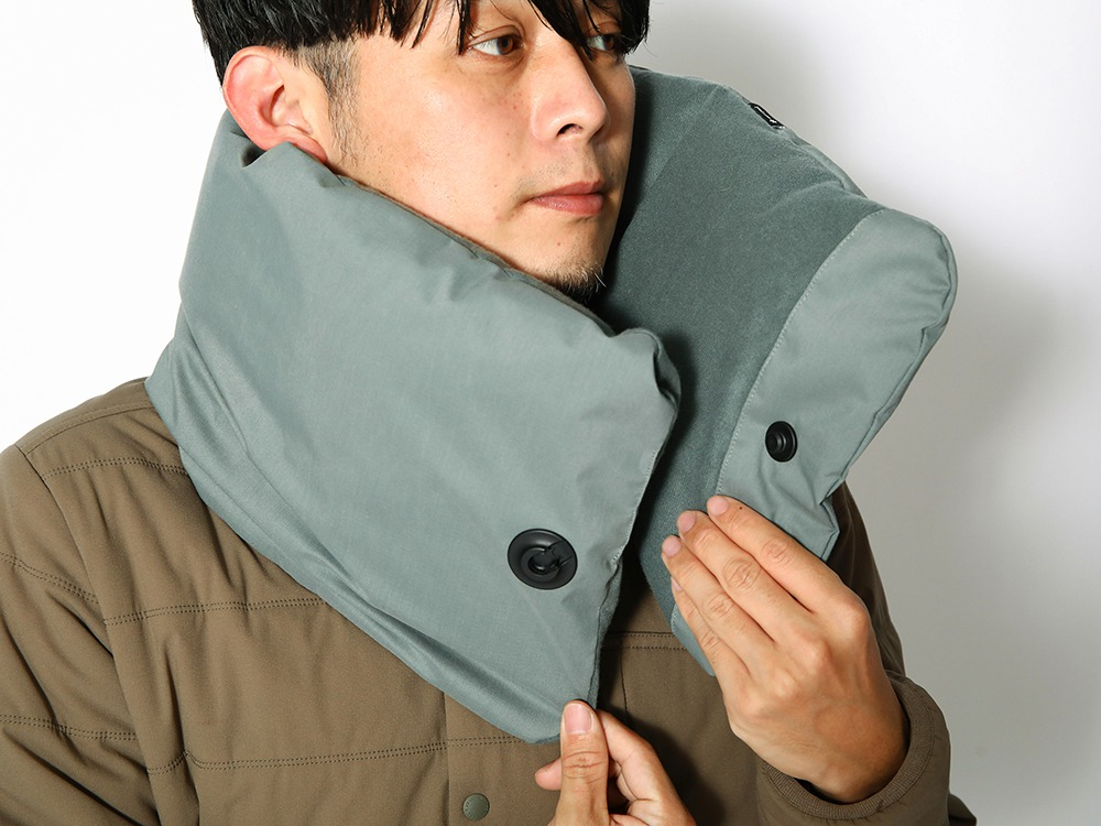 FR 2L Down Neck Warmer ONE Brown
