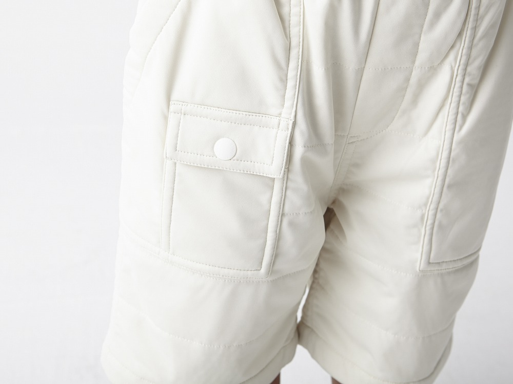Kids Flexible Insulated Shorts 2 White5