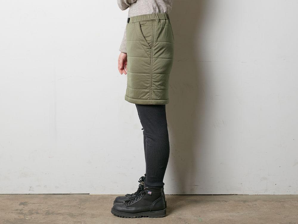 フレキシブルインサレーションスカート 1 ネイビー