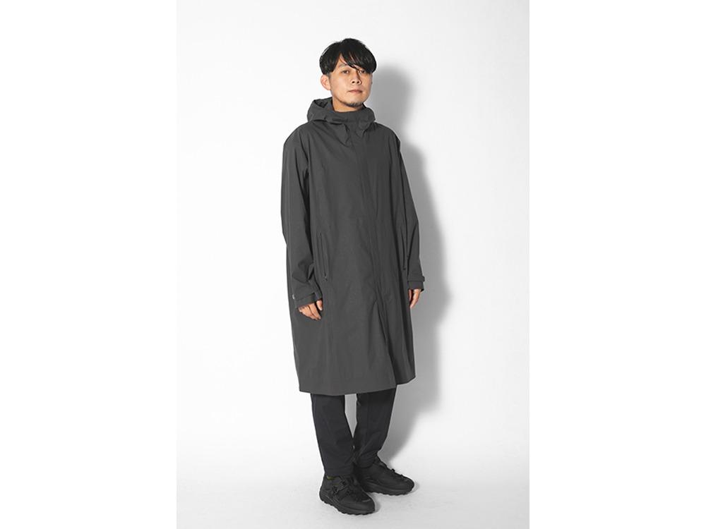 Stretch 2L Coat M Grey