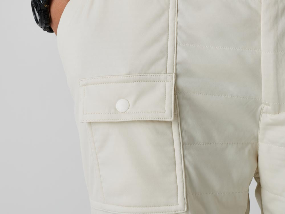 FlexibleInsulated Shorts 2 White7