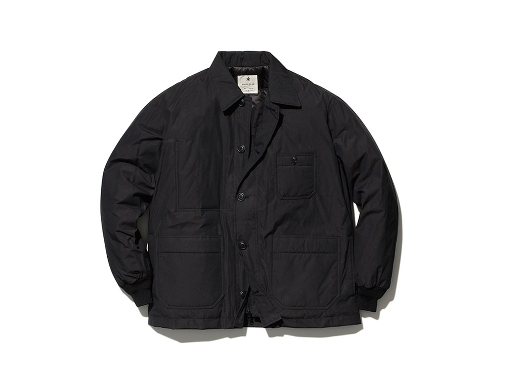 Waxed C/N Down Jacket 1 Black