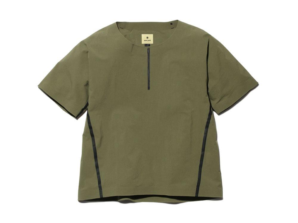 DWR シームレス Tシャツ M オリーブ