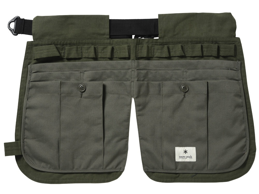 Camping Utility Apron Olive0