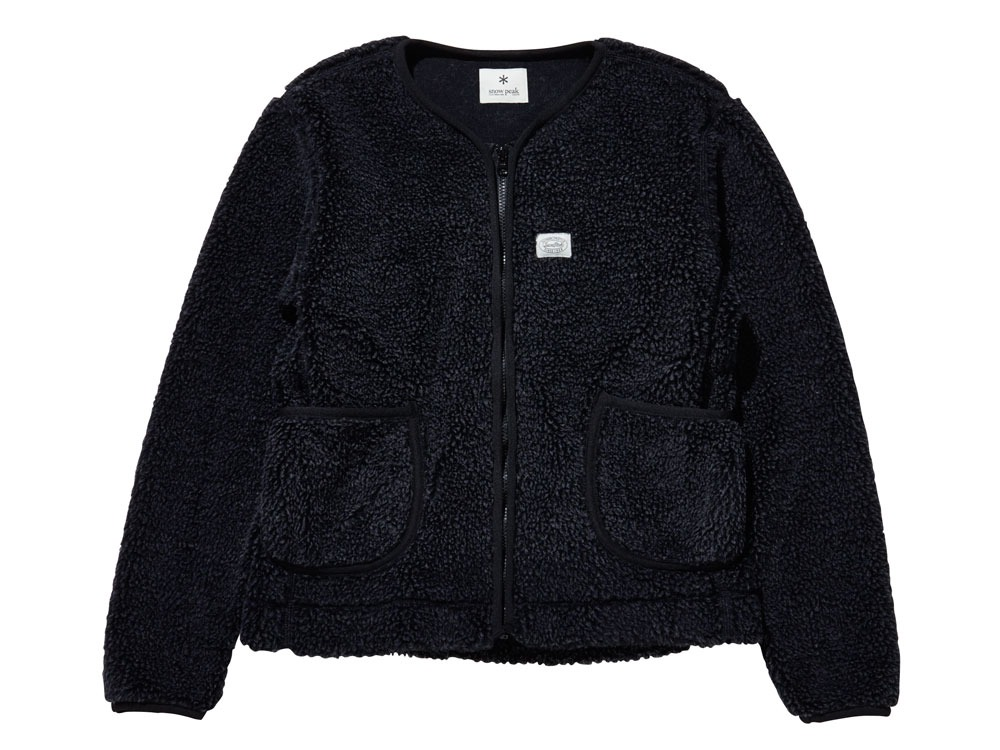 Soft Wool Fleece Jacket 2 Charcoal0