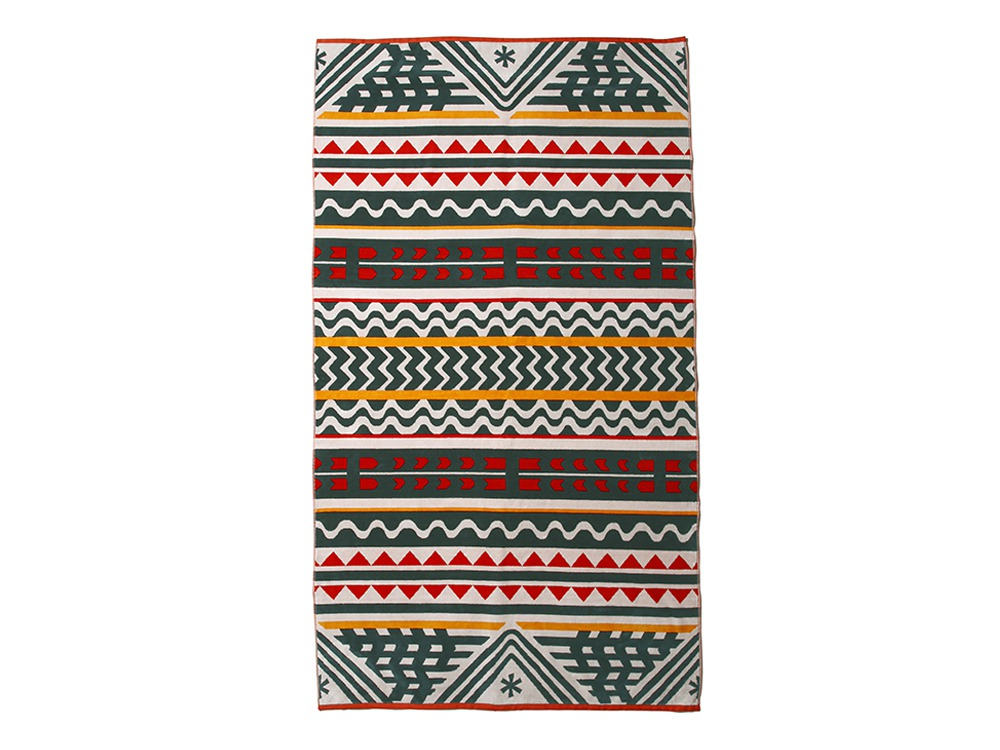 SP / PENDLETON TOWEL BLANKET One Green