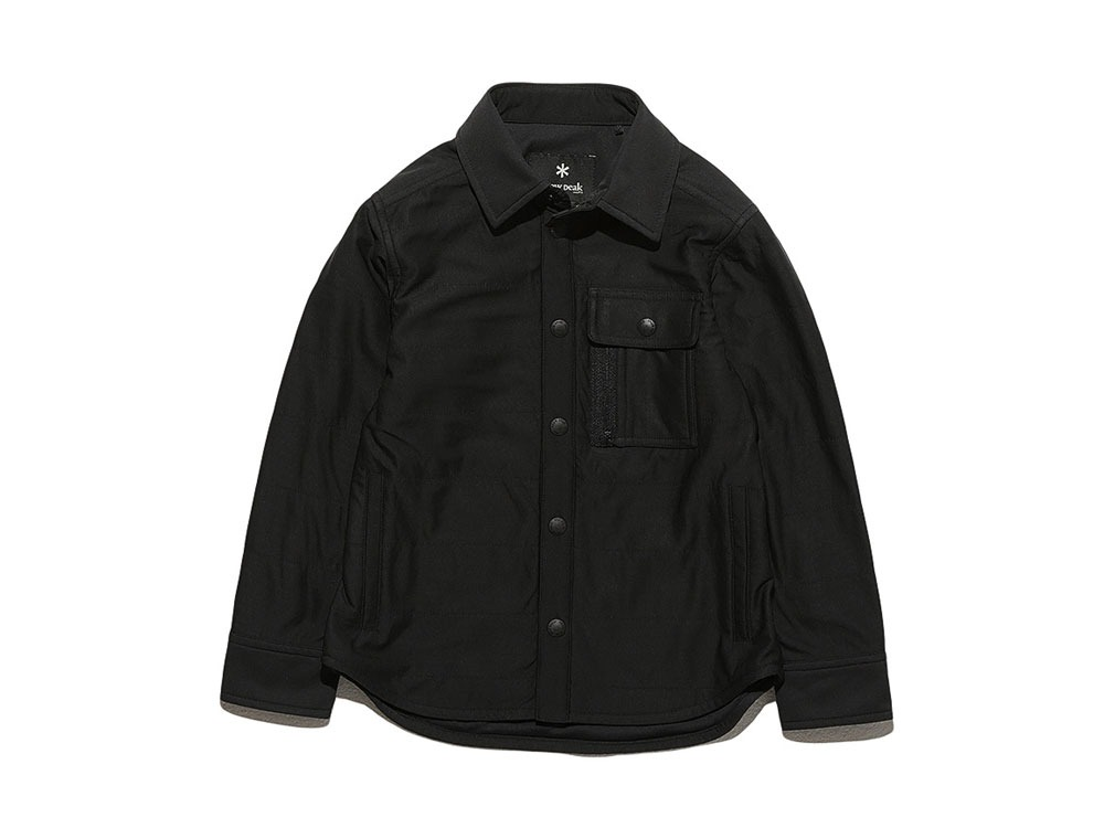 Kids Flexible Insulated Shirt 1 Black0