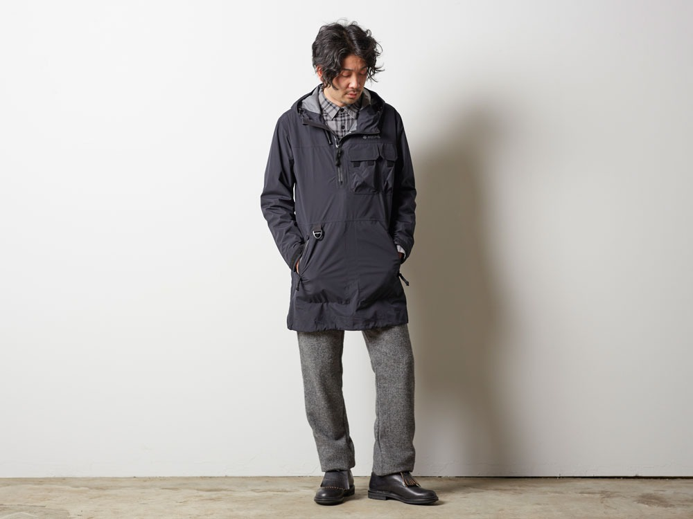 Wind&Water Resistant Anorak 2 Olive1