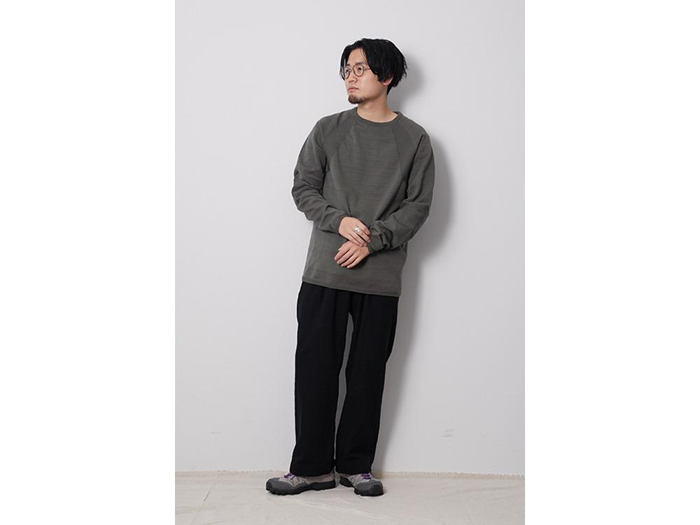 WG Stretch Knit L/S Pullover M Khaki