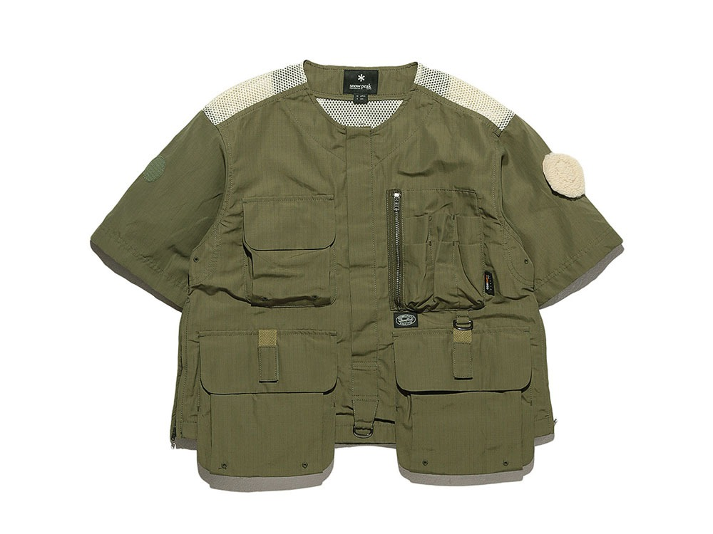 Utility Fishing Pullover 1 Olive0