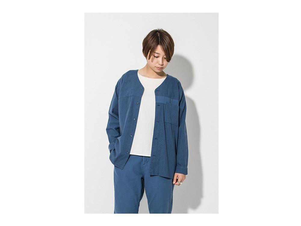昔のワークシャツ(JIBAN)  S Blue