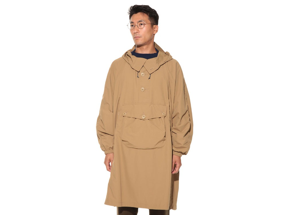 Camping Over Poncho M Beige2