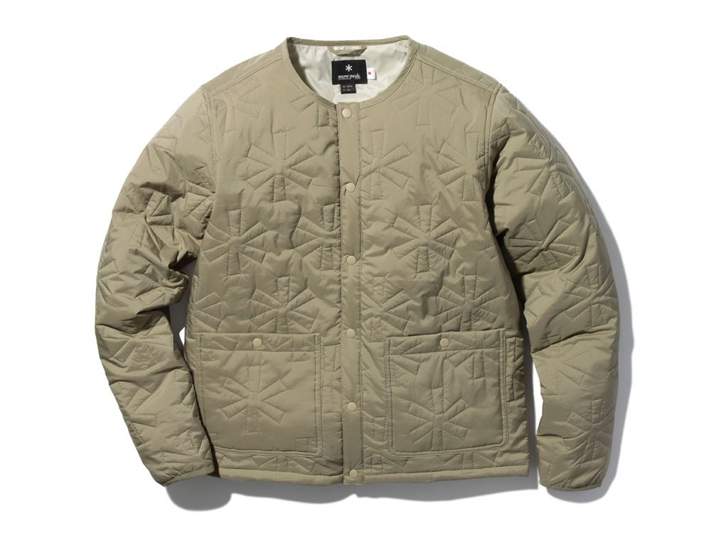 Quilting puff Jacket S Beige0