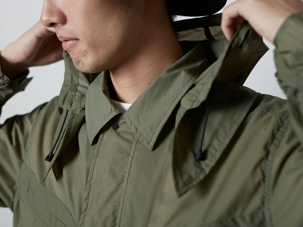 Rain&WindResistantJacket S Olive5