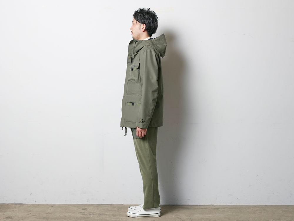 FR Rain Jacket M Olive2