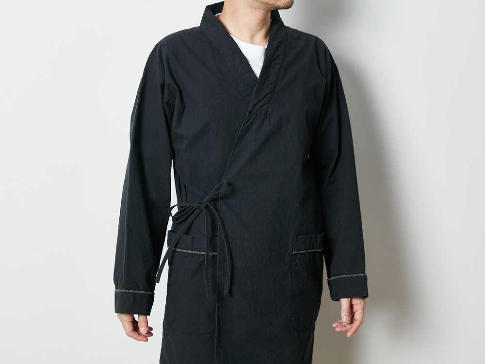 ノラギ ロングジャケット Mブラック