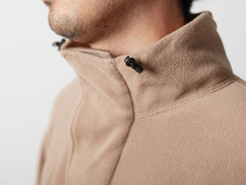 R/Pe Fleece Pullover M Brown7