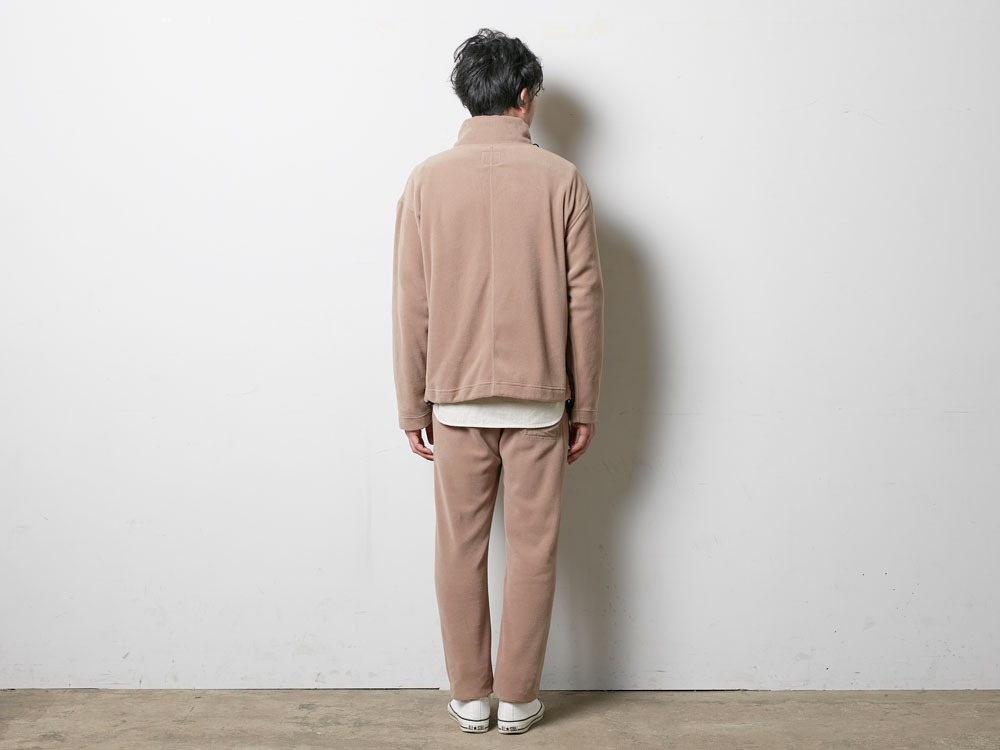 R/Pe Fleece Pullover M Brown3